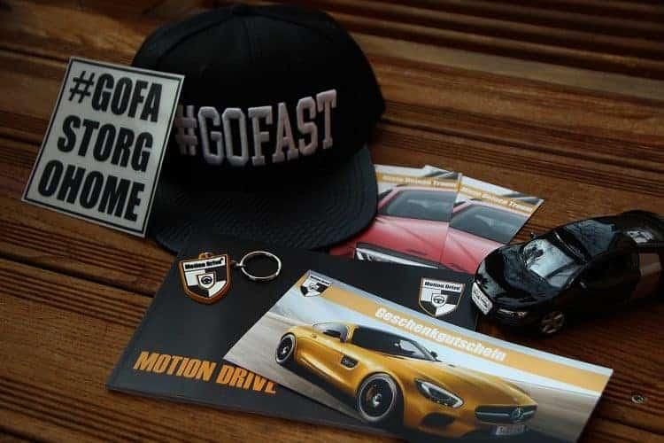 luxury car gift voucher